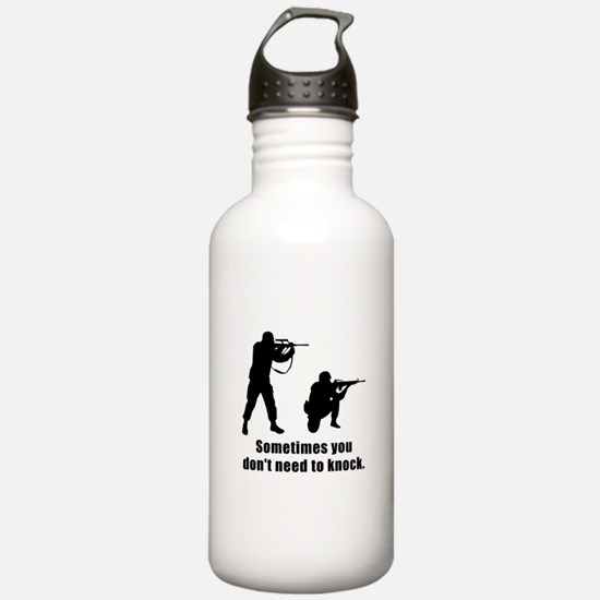Don't Need To Knock Water Bottle