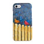 Cardinals on the Fence iPhone 7 Tough Case