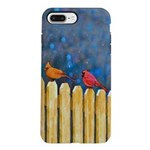 Cardinals on the Fence iPhone 7 Plus Tough Case