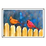 Cardinals on the Fence Banner