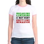 Illegals Breaking & Entering Jr. Ringer T-Shirt