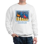 Cardinals on the Fence Sweatshirt