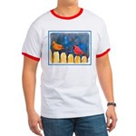 Cardinals on the Fence Ringer T