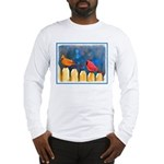 Cardinals on the Fence Long Sleeve T-Shirt