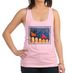Cardinals on the Fence Racerback Tank Top