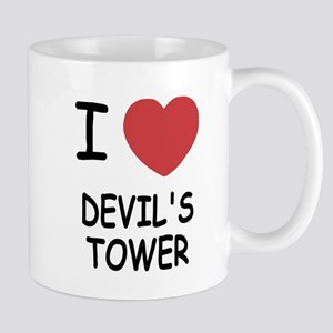 I heart devil's tower Mug