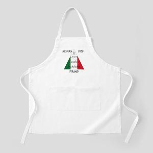 Mexican Food Pyramid BBQ Apron
