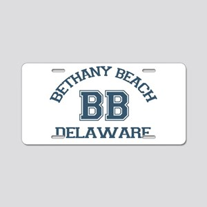 Bethany Beach - Varsity Design Aluminum License Pl