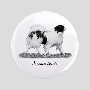 "Japanese Spaniel 3.5"" Button"