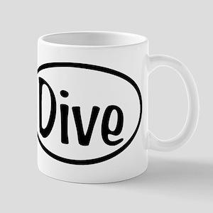 Dive Oval Mug