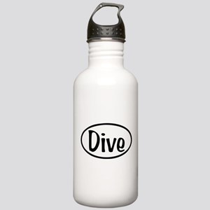 Dive Oval Stainless Water Bottle 1.0L