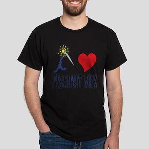 i love my pregnant wife Dark T-Shirt