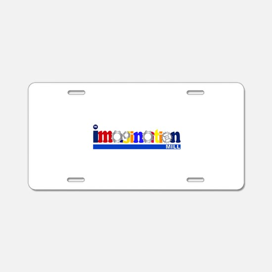 The Imagination Mill Aluminum License Plate