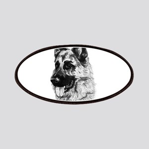 German shepherd Patch