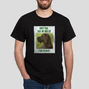 Don't Give Me Lip Black T-Shirt