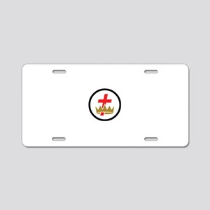 Commandery Aluminum License Plate