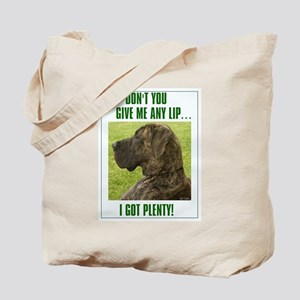 Don't Give Me Lip Tote Bag