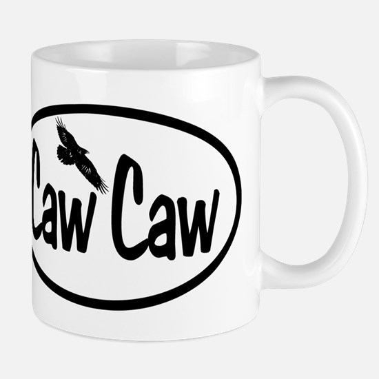 Caw Caw Oval Mug