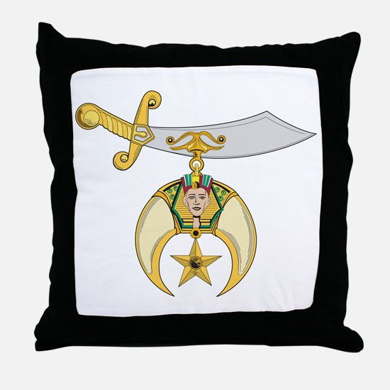 Jewel of the Order Throw Pillow