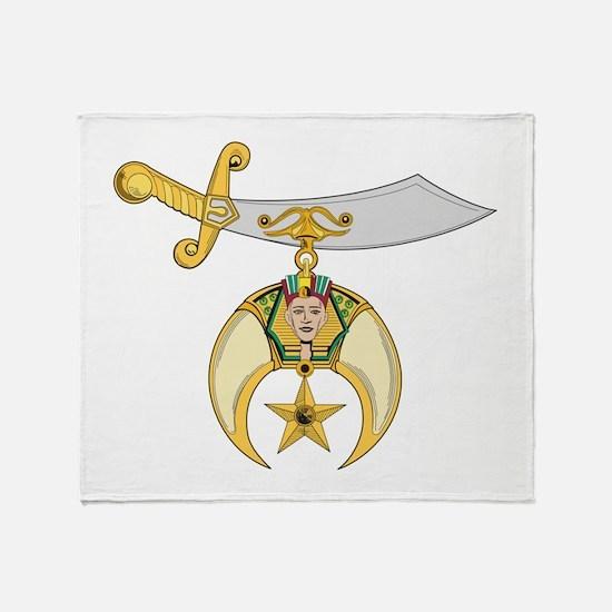 Jewel of the Order Throw Blanket