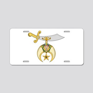 Jewel of the Order Aluminum License Plate