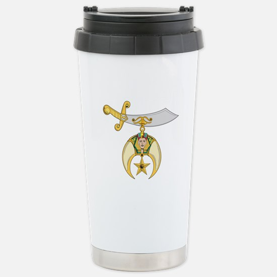 Jewel of the Order Stainless Steel Travel Mug