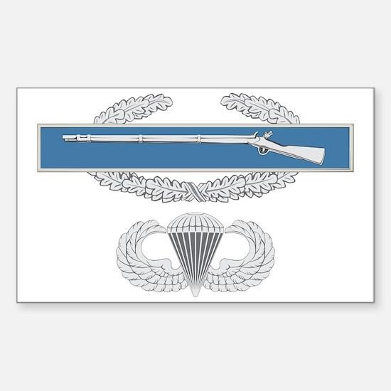 CIB Airborne Sticker (Rectangle)