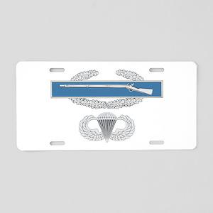 CIB Airborne Aluminum License Plate