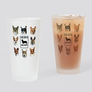 You Are in Corgi Country Pint Glass