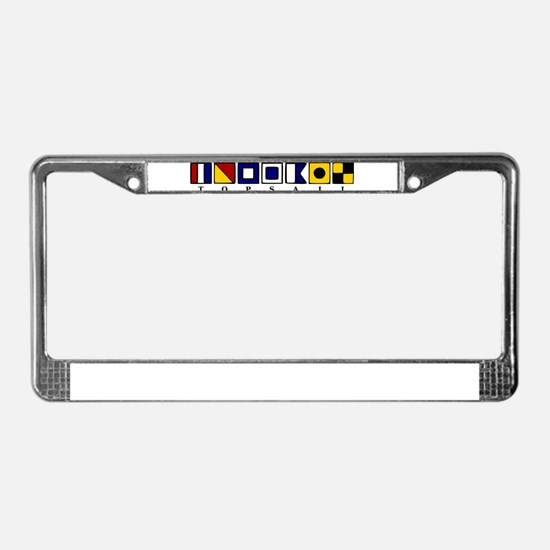 Topsail Beach License Plate Frame