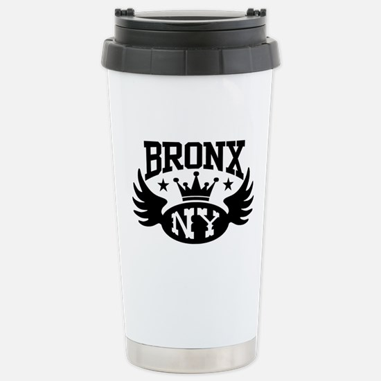 Bronx NY Stainless Steel Travel Mug