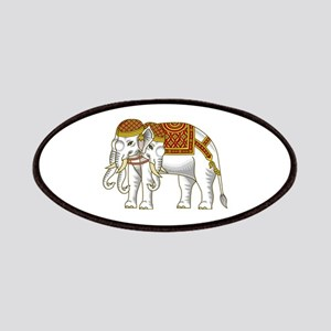 Thai Erawan White Elephant Patches