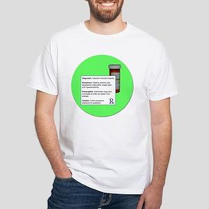 Adoption Insanity White T-Shirt