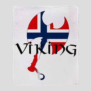 Norway Viking Throw Blanket