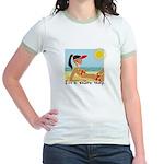 I'm a Shore Thing Jr. Ringer T-Shirt