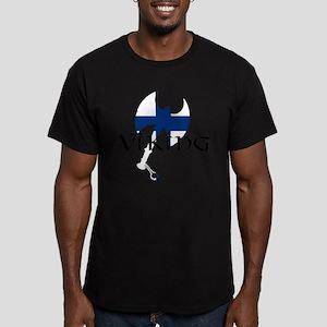 Finnish Viking Axe Men's Fitted T-Shirt (dark)