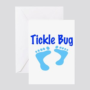 Tickle Bug Greeting Card