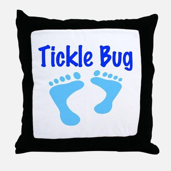 Tickle Bug Throw Pillow