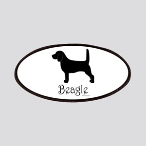 Beagle Silhouette Patches
