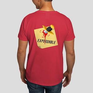 Stabbed Red Shirt Dark T-Shirt