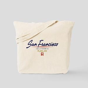 San Francisco Script Tote Bag