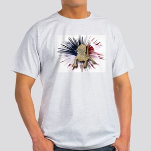 Bearded Dragon USA Ash Grey T-Shirt