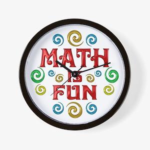 Math is Fun Wall Clock