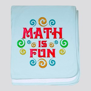Math is Fun baby blanket