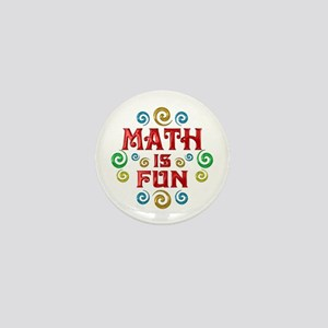 Math is Fun Mini Button