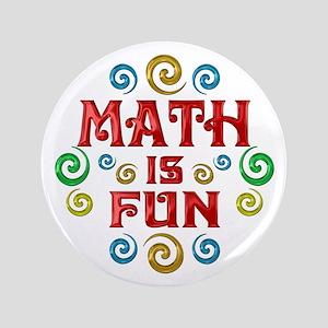 """Math is Fun 3.5"""" Button"""