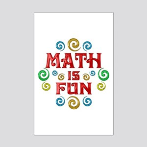 Math is Fun Mini Poster Print