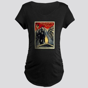 The Cabinet Of Dr. Caligari Maternity Dark T-Shirt