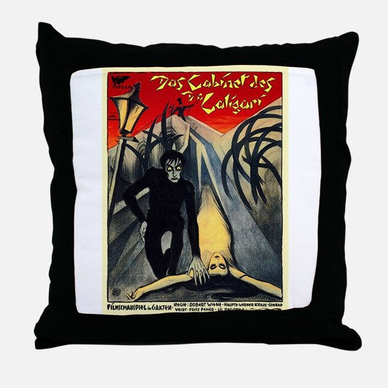 The Cabinet Of Dr. Caligari Throw Pillow