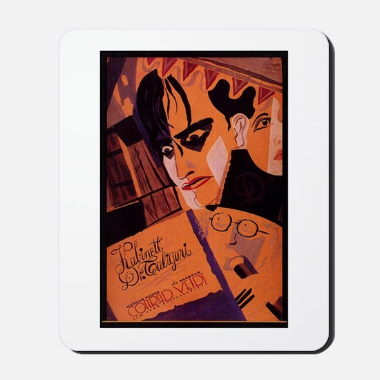The Cabinet Of Dr. Caligari Mousepad
